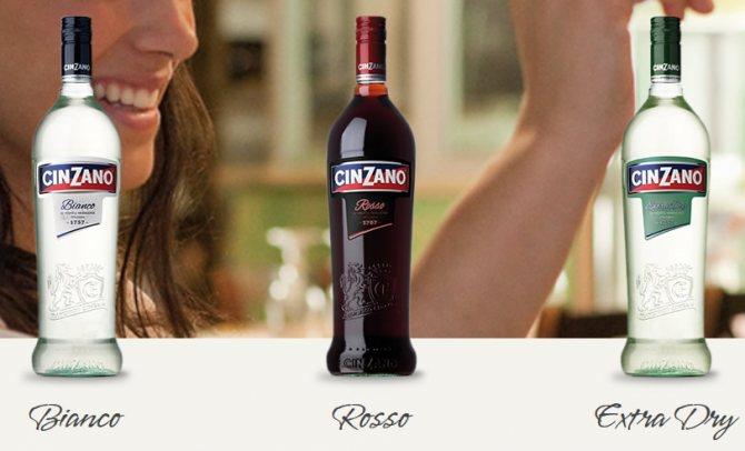 Игристое вино cinzano asti