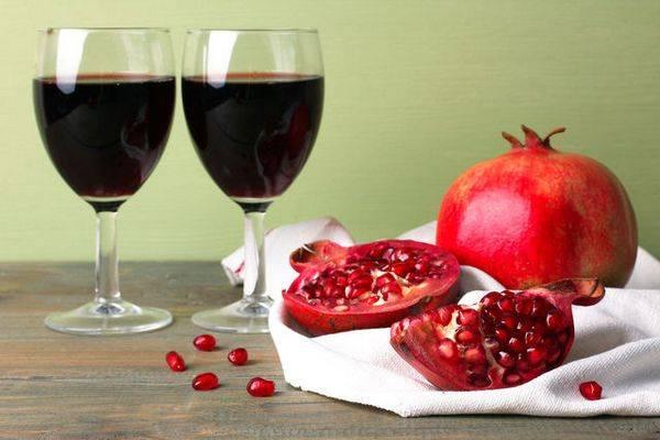 Как сделать гранатовое вино в домашних условиях
