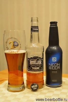Пиво с бурбоном