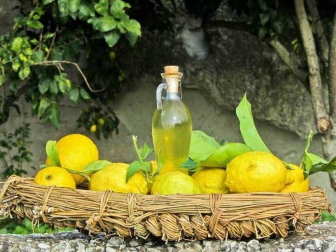 Настойка лимонная на спирту рецепт