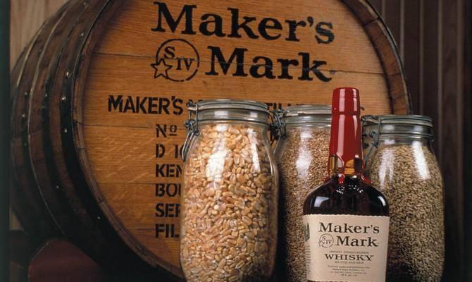 Виски бурбон мэйкерс марк