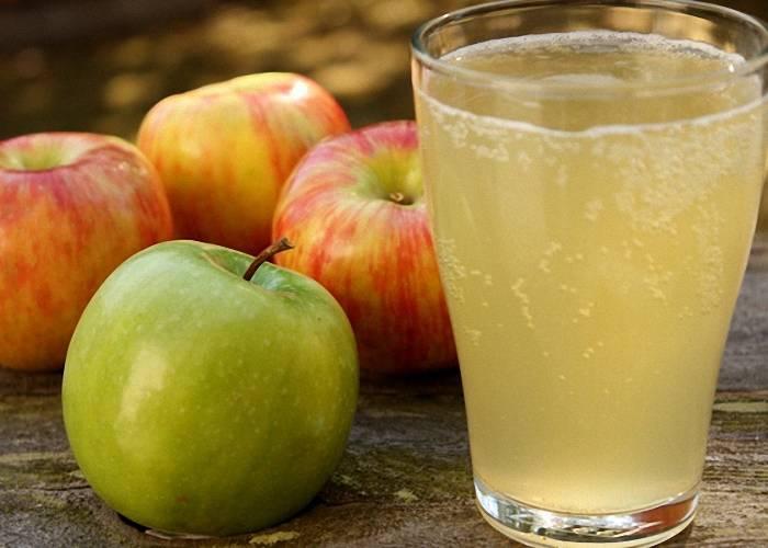 Брага на яблочном соке с дрожжами