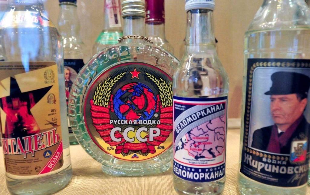 История водки в россии