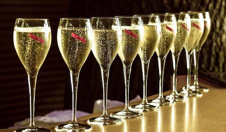 Шампанское боско сухое