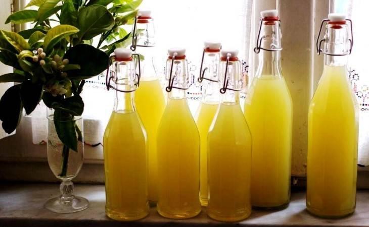 Изготовление лимончелло