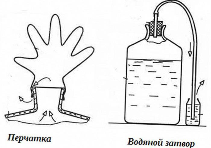 Зачем нужен гидрозатвор для браги