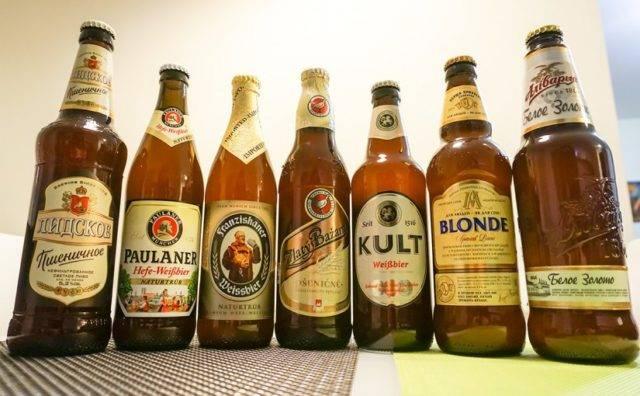 Вкус пшеничного пива