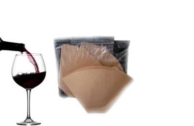 Первый слив вина с осадка