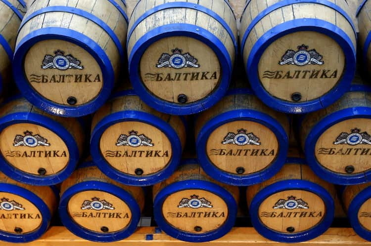 Балтика все виды пива