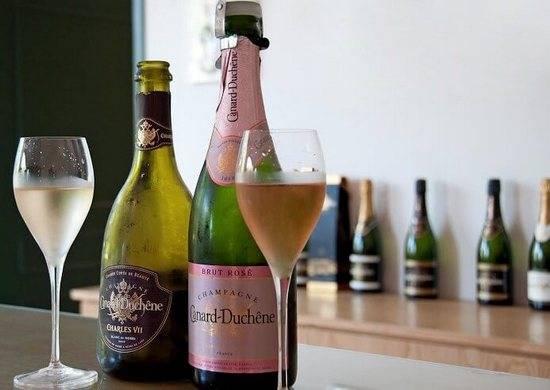 Французское шампанское брют