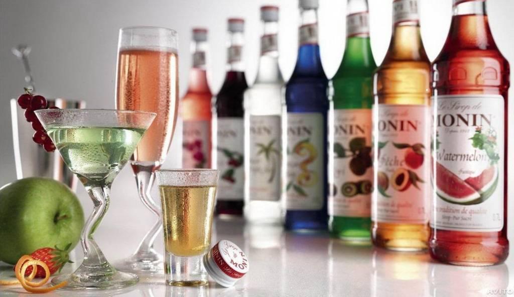 Сироп для алкогольных напитков