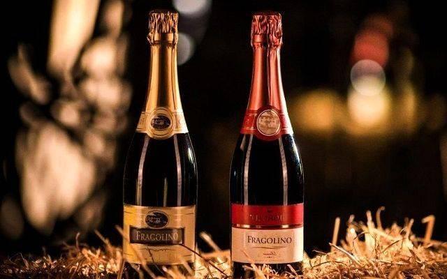 Итальянское игристое вино и шампанское