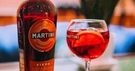 Коктейль мартини с водкой и соком