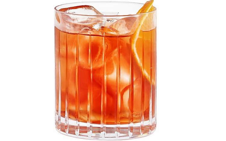 Негрони коктейль рецепт алкогольный