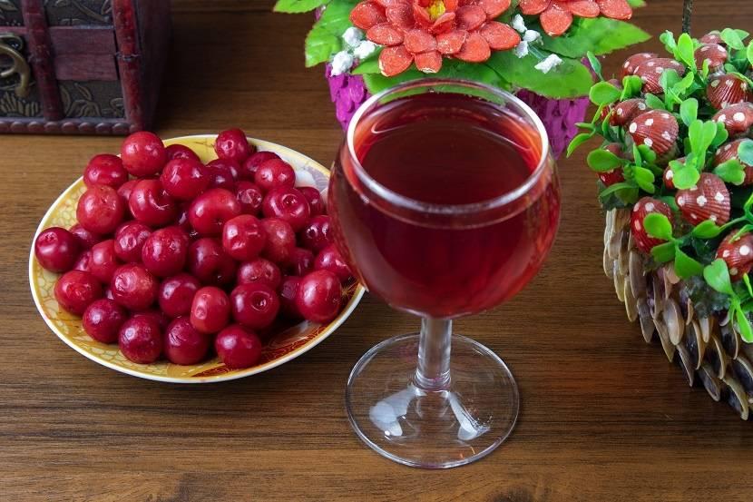 Как сделать вино из замороженной вишни