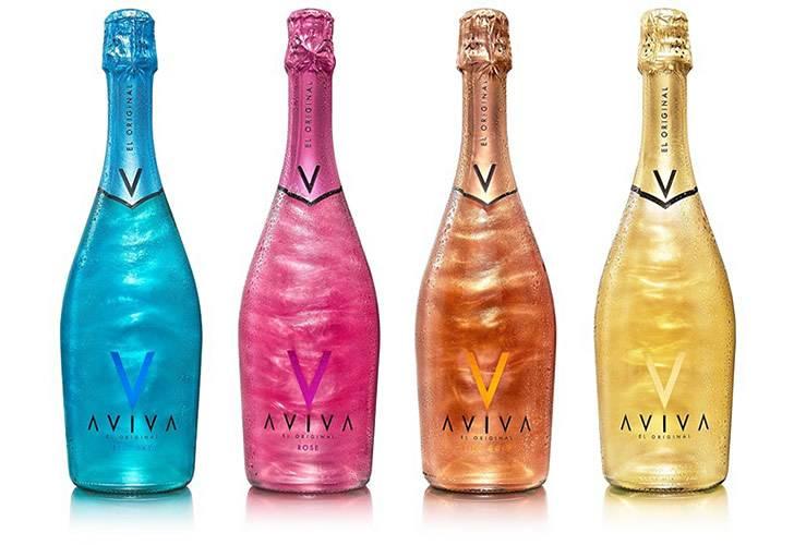 Шампанское с блестками внутри название
