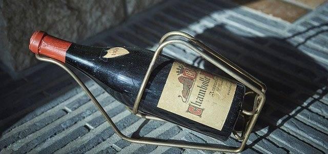 Вино красное сухое бжу