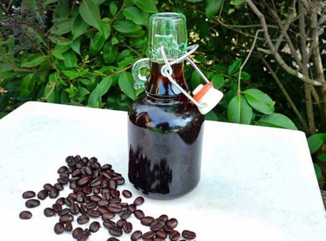 Самогон с кофе рецепт