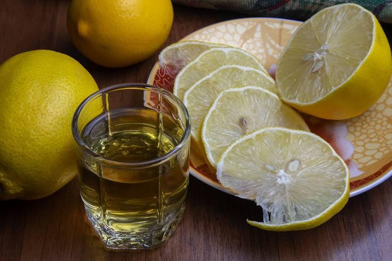 Алко лимон коктейль