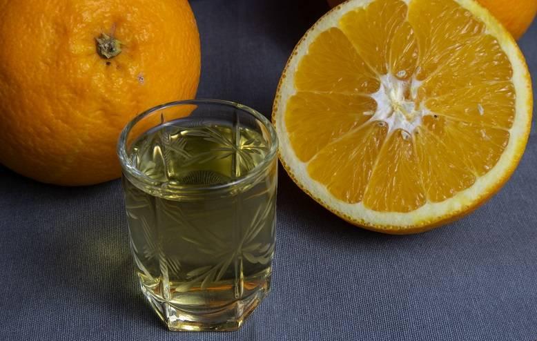 Настойка из апельсиновых корок на водке