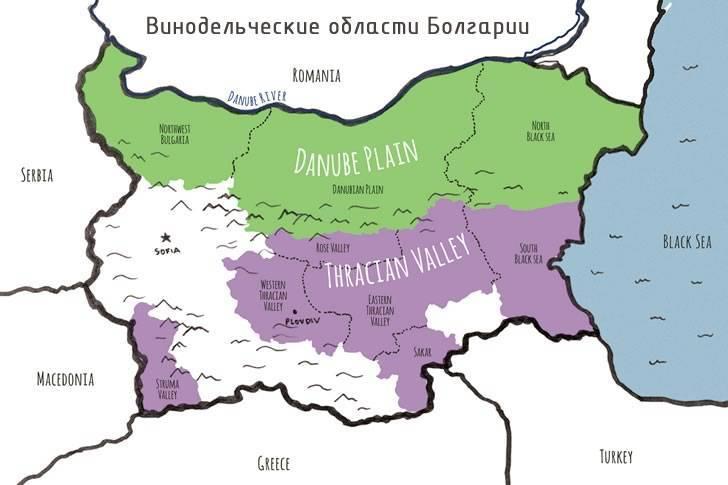 Болгарское вино тамянка