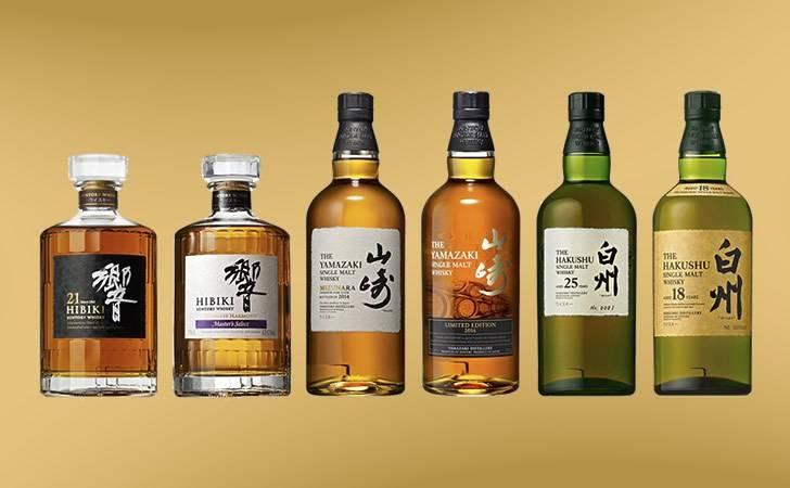 Японское виски сантори