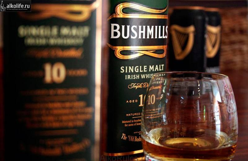 Ирландский виски bushmills