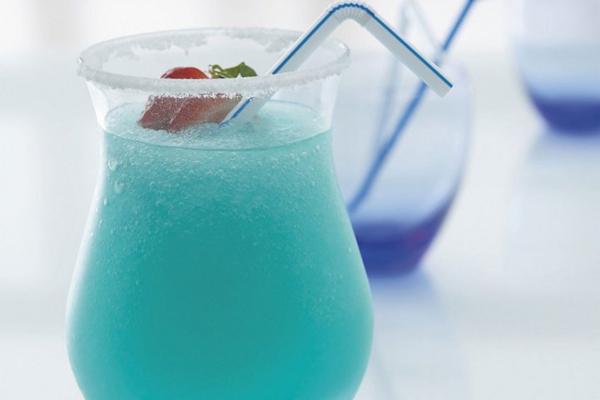 Синий сироп для коктейлей