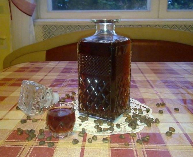 Как приготовить настойку на кедровых орешках