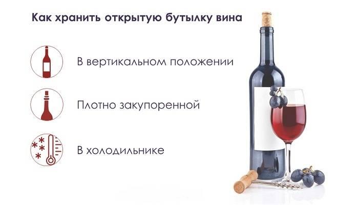 При какой температуре хранить красное вино