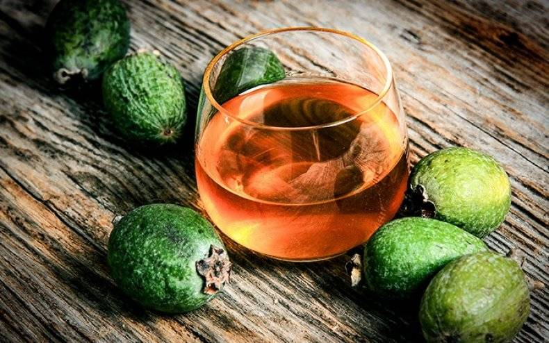 Настойка на фейхоа рецепт на спирту