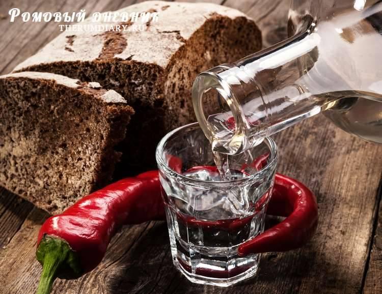 Настойка перцовая на водке рецепт