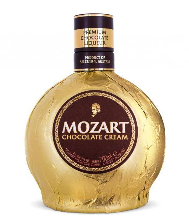 Шоколадный ликер моцарт