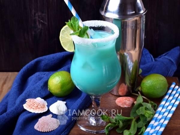 Blue hawaii коктейль