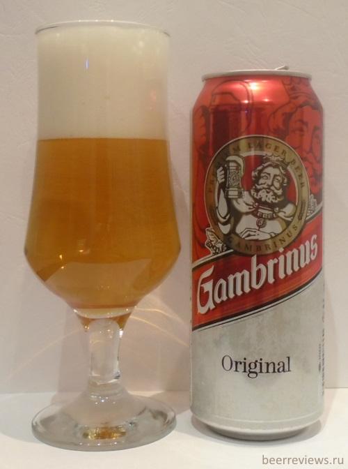 Пиво gambrinus original
