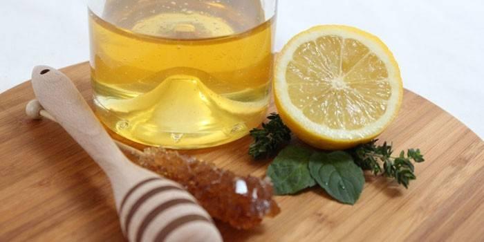 Лимонно мятная настойка на спирту