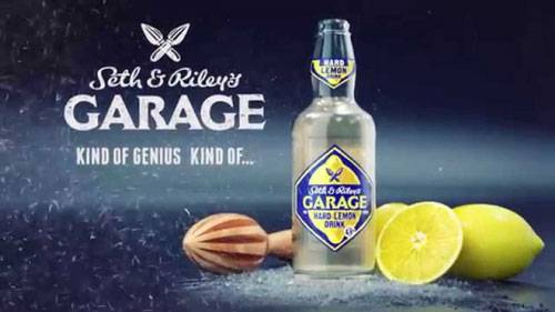 Напиток garage hard lemon drink