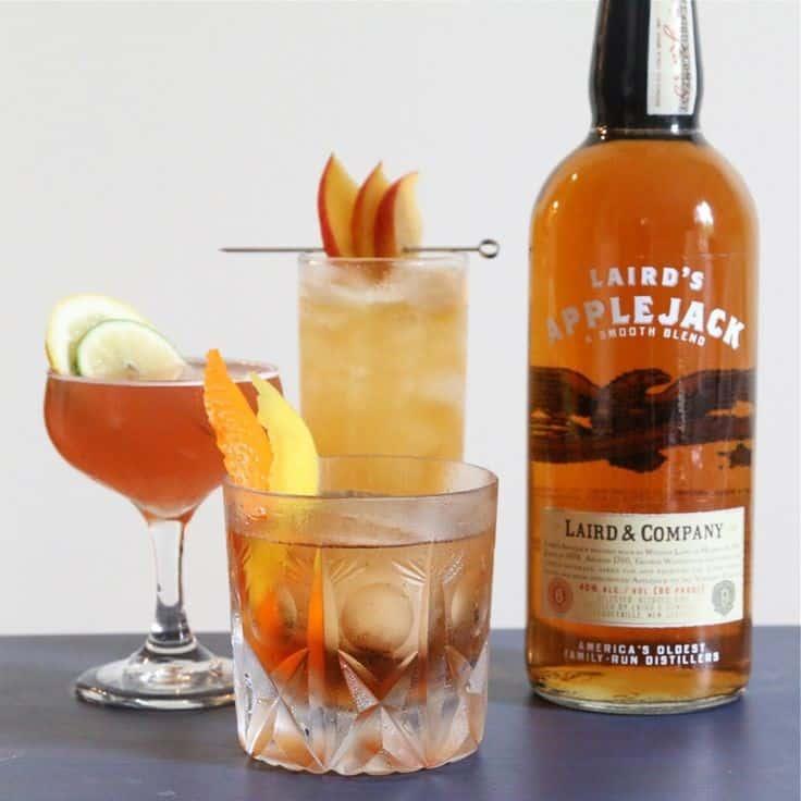 Оранжевый коктейль с апельсином