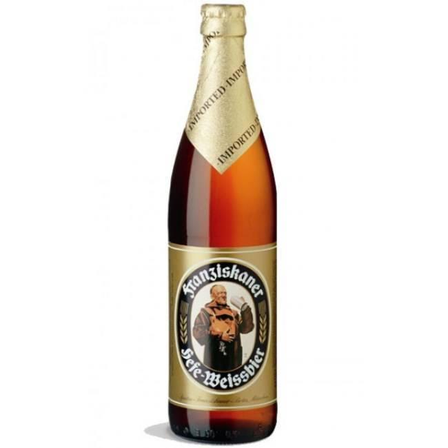 Нефильтрованное пиво в бутылках марки