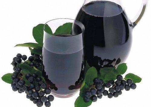 Вино из черноплодной рябины в банке