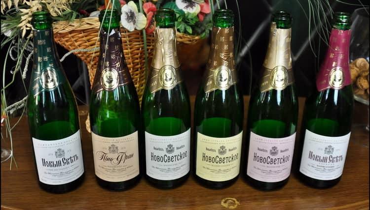 Шампанское новый свет брют
