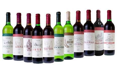 Эшера абхазия вино