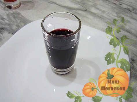 Рецепт наливки из черноплодной рябины