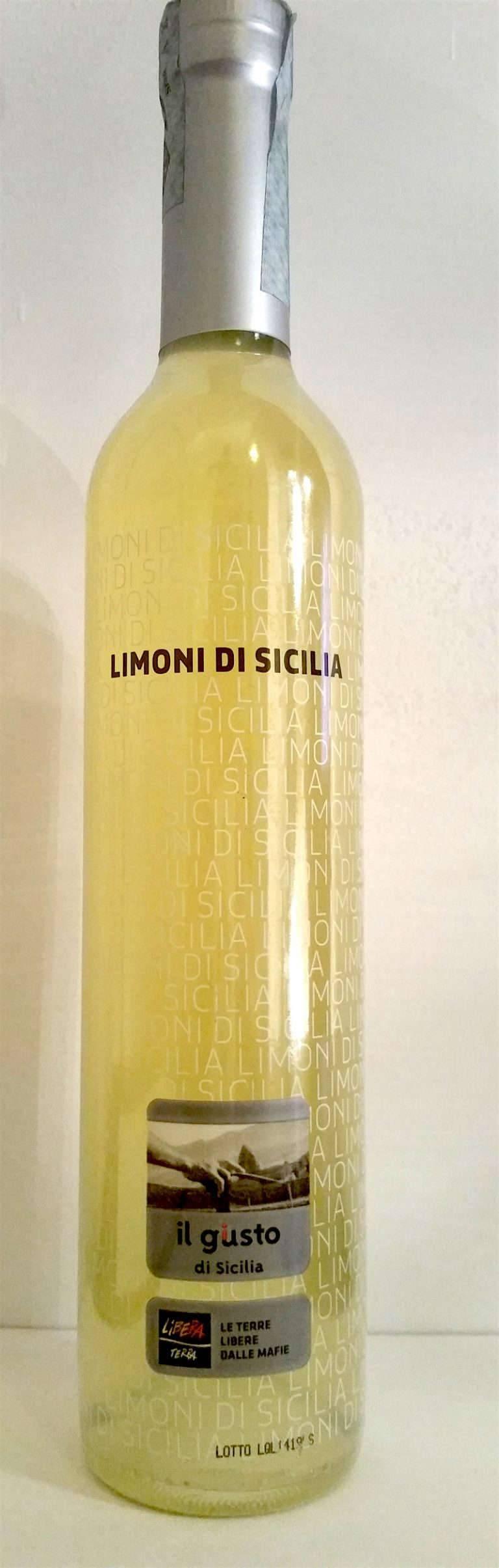 Лимончелло италия