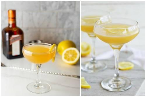 Сайдкар коктейль рецепт