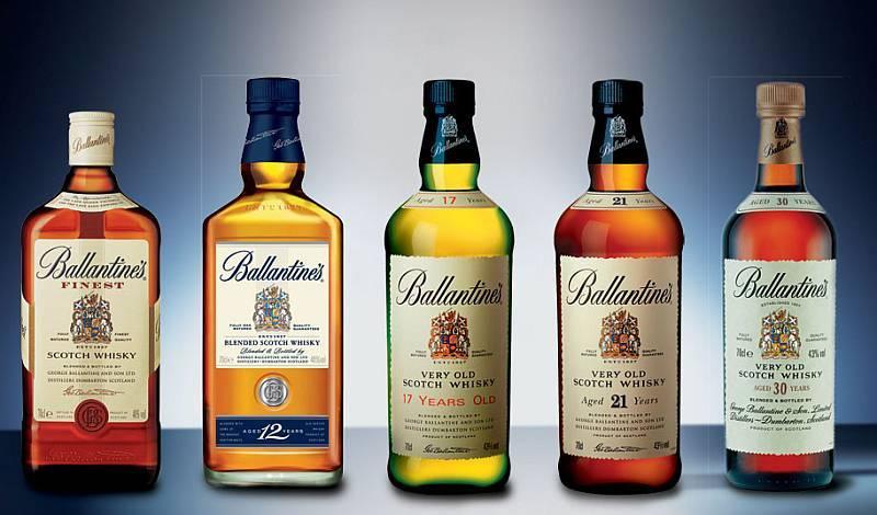 Как пить виски баллантайнс