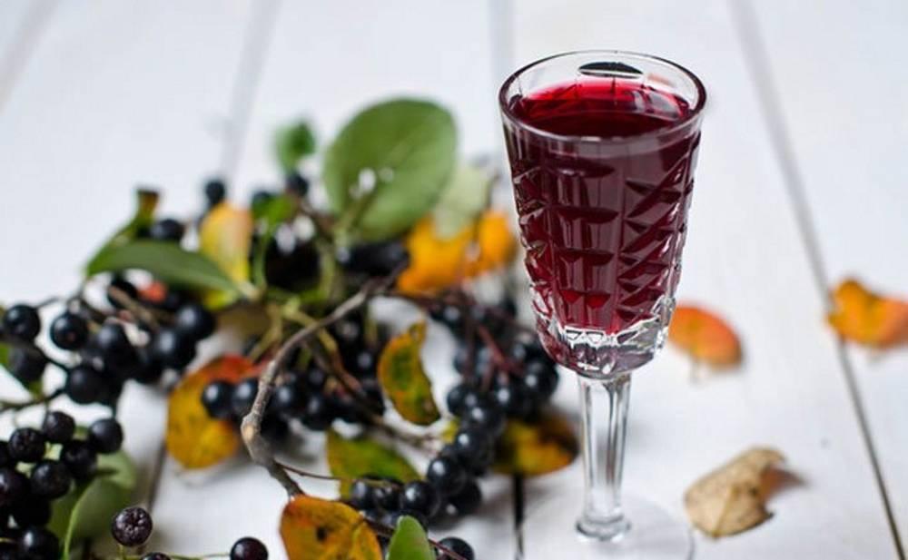 Домашнее вино из черноплодной рябины простой рецепт