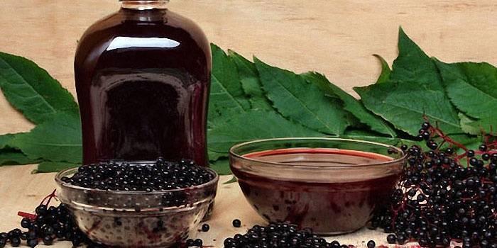 Вино из черноплодной рябины с водкой