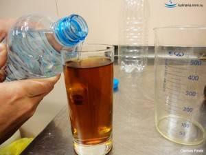 Формула расчета разбавления самогона водой