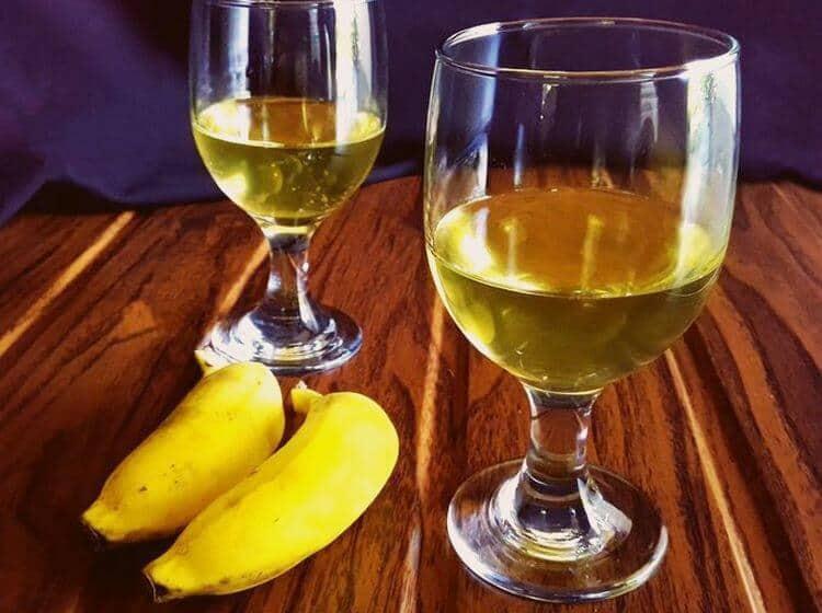 Алкоголь из бананов